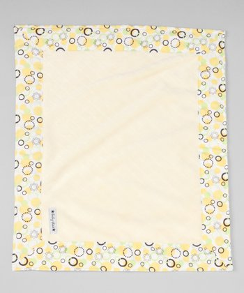 Yellow Bubbles Security Blanket