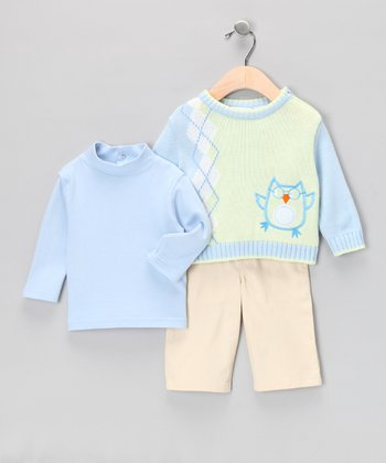 Khaki Pants Set - Infant