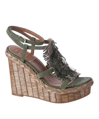 Jungle Bairo Leather Espadrille
