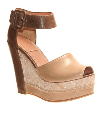 Medium Taupe Cappella Wedge