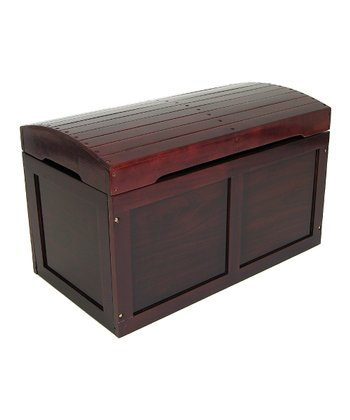 Cherry Barrel-Top Toy Chest