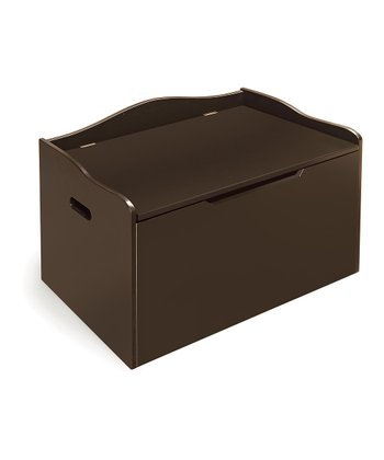 Espresso Bench Toy Box