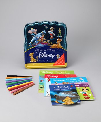 Read, Play & Listen Disney Activity Set