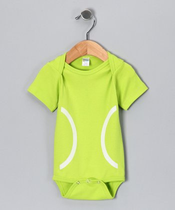 Neon Green Tennis Bodysuit - Infant