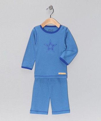 Blue Star Organic Tee & Yoga Pants - Infant