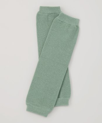Hunter Green Organic Leg Warmers