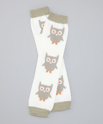 White Owl Organic Leg Warmers