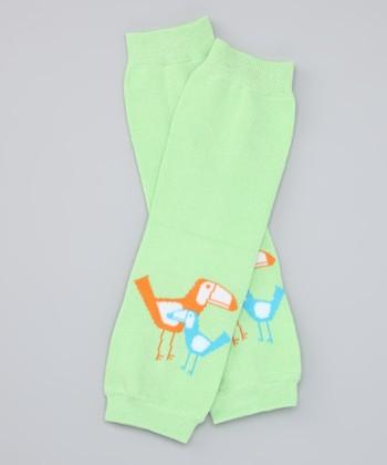 Green Toucan Organic Leg Warmers