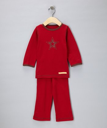 Red Star Organic Tee & Yoga Pants - Infant