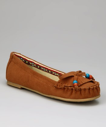 Chestnut Bead Moccasin