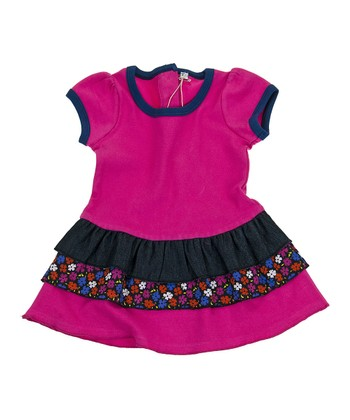 Pink Licorice Organic Dress - Infant, Toddler & Girls
