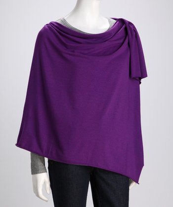 Bamboobies Plum Organic Nursing Shawl