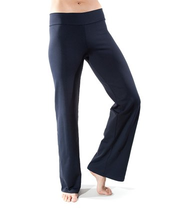 Black Just Right Long Maternity Yoga Pants