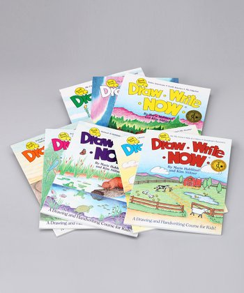 Draw Write Now Boxed Paperback Set