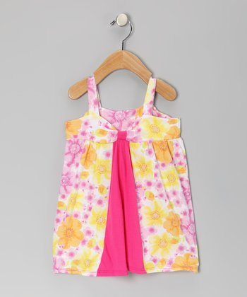 Country Flowers Farmer's Daughter Organic Dress - Toddler & Girls