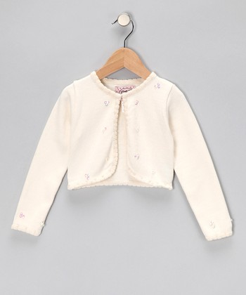 Bone Crop Cardigan - Infant, Toddler & Girls