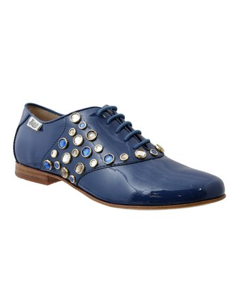 Cobalt Blue Aliza Oxford