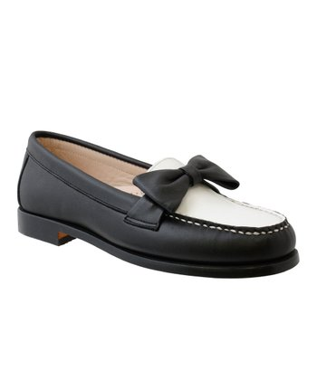 Black & White Ashley Loafer