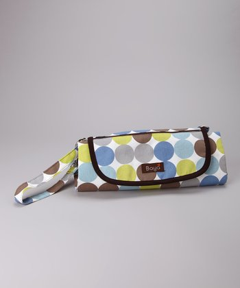Blue Dots Park Place Diaper Clutch