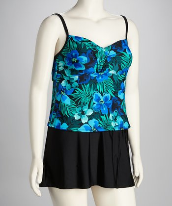 Blue Napa Valley Swimdress