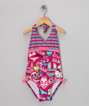Pink Beach One-Piece