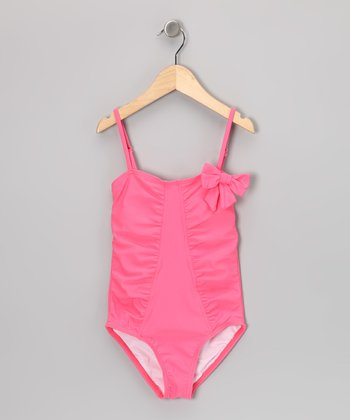Bubble Gum Bow One-Piece