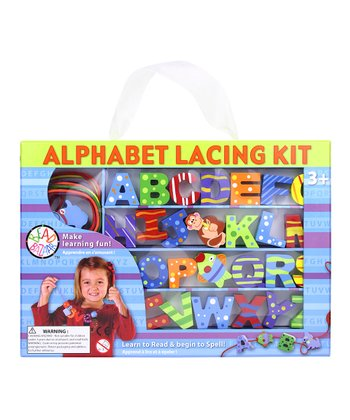 Uppercase Alphabet Lacing Set