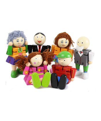 Family Fun Poseable Pal Set