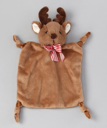 Brown Wee Lil' Plush Reindeer