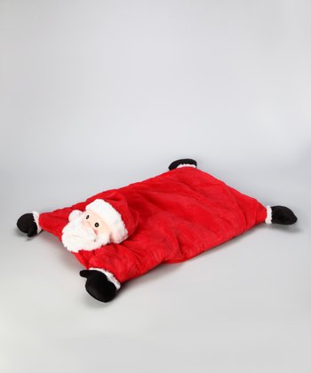 Red & White Santa Blanket