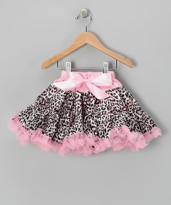 Pink Leopard Pettiskirt - Infant, Toddler & Girls