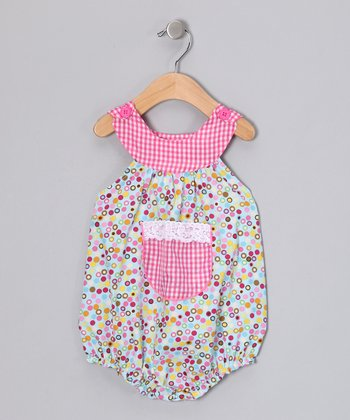 Blue Dot Galore Bubble Bodysuit - Infant