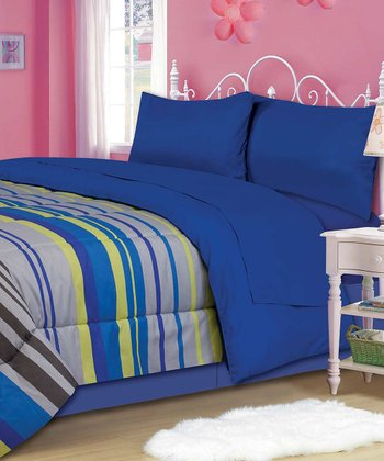 Light Beam Comforter Set