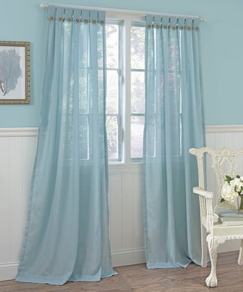 Blue Easton Laura Ashley Panel Curtain