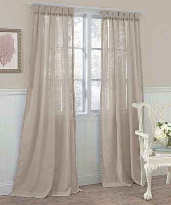 Taupe Easton Laura Ashley Panel Curtain