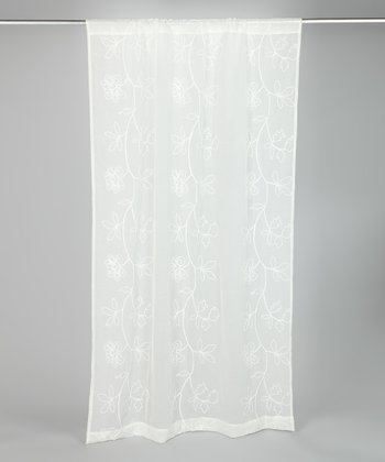 Ivory Frosting Laura Ashley Panel Curtain