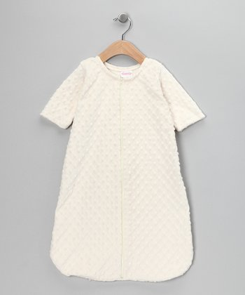 Ivory Minky Sleeping Sack - Infant