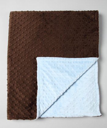 Blue & Brown Throw