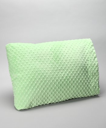 Lime Minky Pillowcase