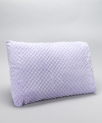 Lavender Minky Pillowcase