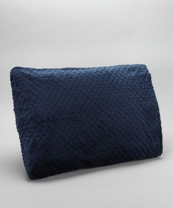 Navy Minky Pillowcase