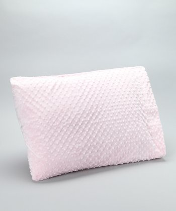 Pink Minky Pillowcase