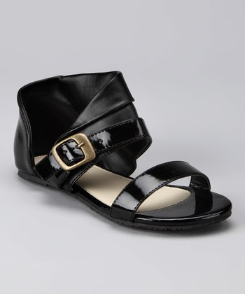 Black Cuff Sandal