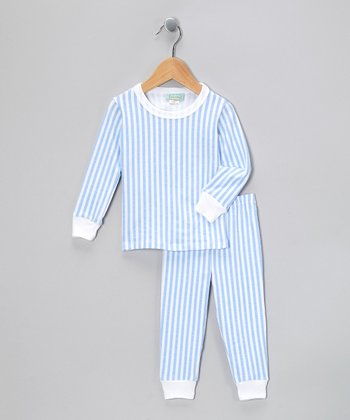 Blue 3-D Pajama Set - Toddler & Kids