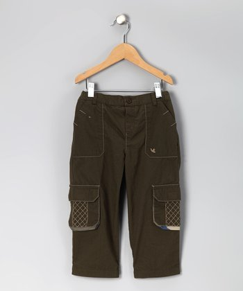 Green Cargo Pants - Infant & Toddler