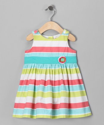 Rainbow Sherbet Sundress - Infant & Toddler