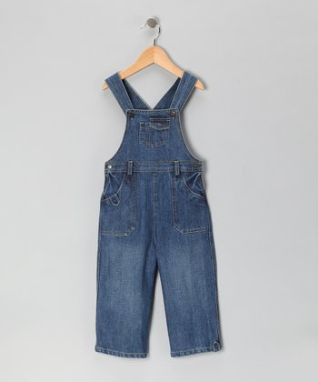 Blue Denim Overalls - Infant & Toddler