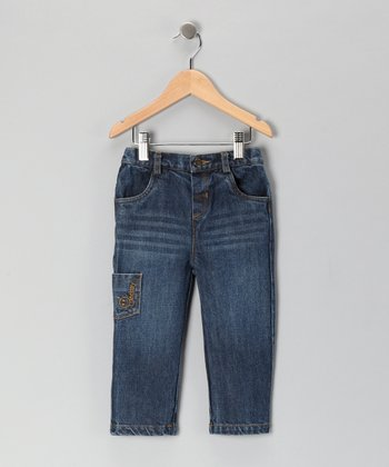 Blue Denim Straight-Leg Jeans - Infant & Toddler