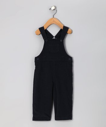 Navy Corduroy Overalls - Infant & Toddler