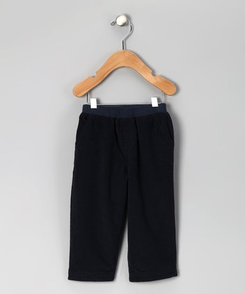 Navy Corduroy Pants - Toddler